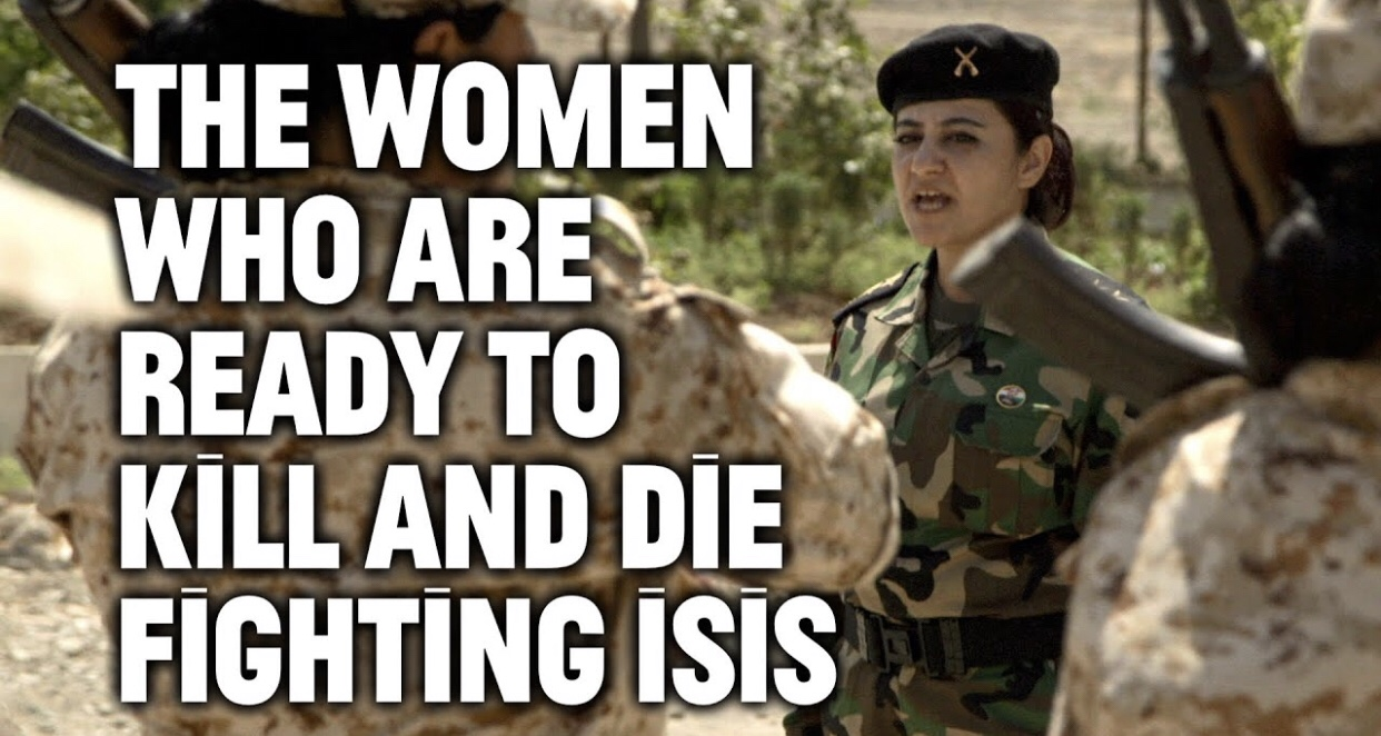 Women are ready to die to kill ISIS