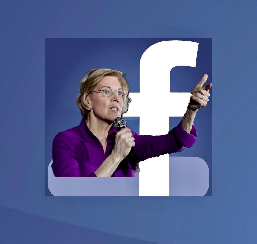 Fecebook v. Elizabeth Warren