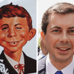 Does Pete Buttigieg look like Alfred E. Neumann?