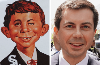 Does Pete Buttigieg look like Alfred E. Neumann?