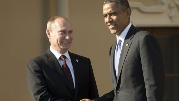FLASHBACK FRIDAY: The President Colludes with Russia