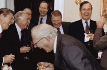 Reagan Laughing