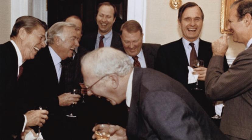 Reagan Laughing