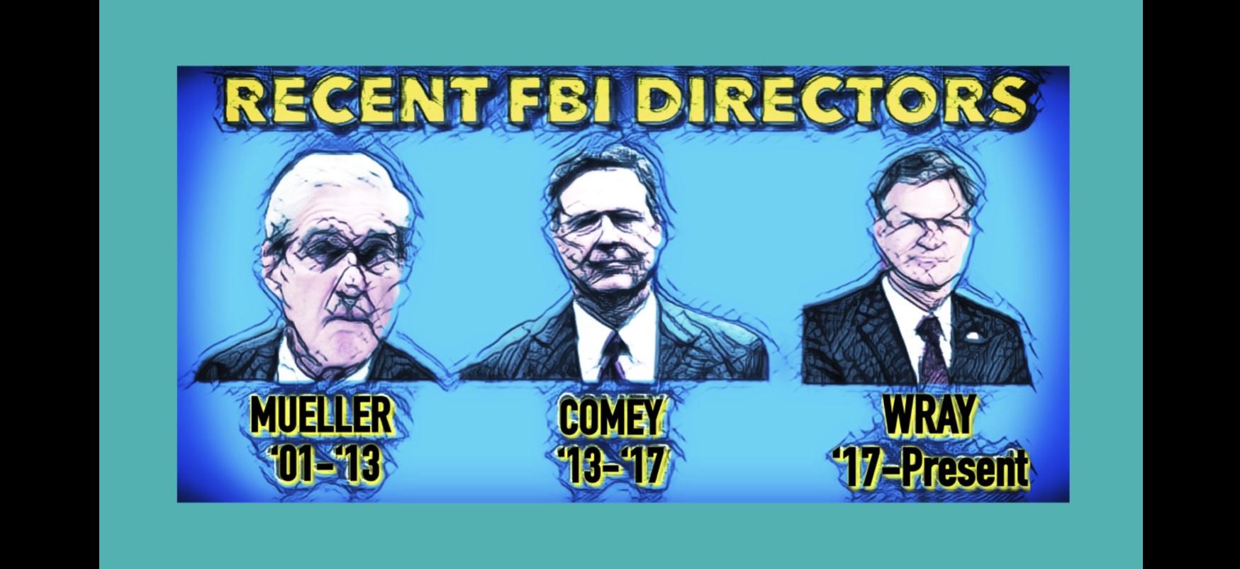 Photo ofThe FBI Director: Bob Mueller, Jim Comey, Christopher Wray