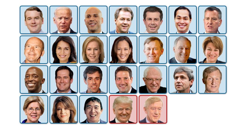 Photo ofDemocrats Running for President
