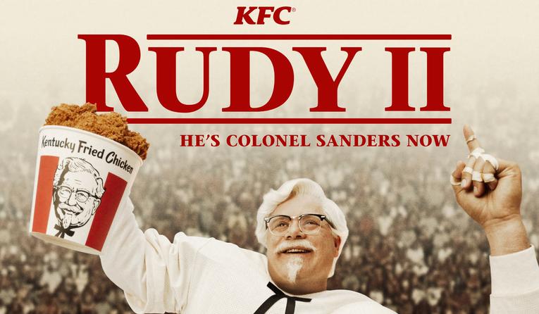 KFC | Rudy II: He's Colonel Sanders Now