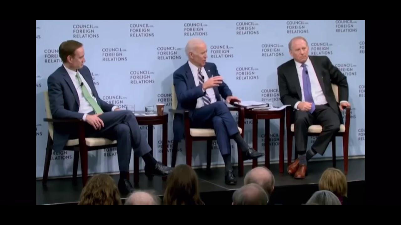 Joe Biden Brags about Getting Ukrainian State Prosecutor Fired