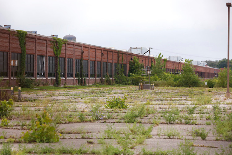 Shuttered Factory in Democrat Run City