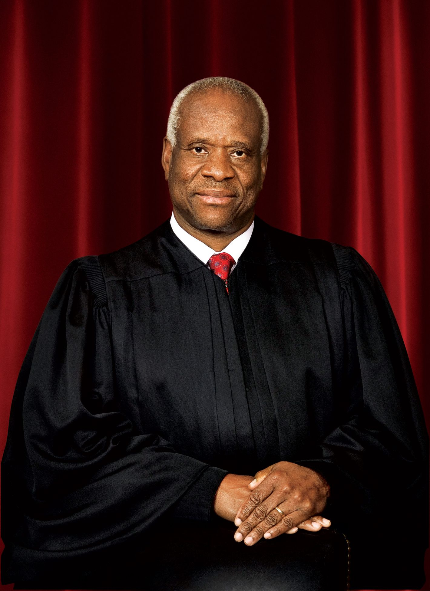 US Supreme Court Associate Justice Clarence Thomas