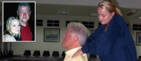 Epstein Victim Gives Bill Clinton Massage