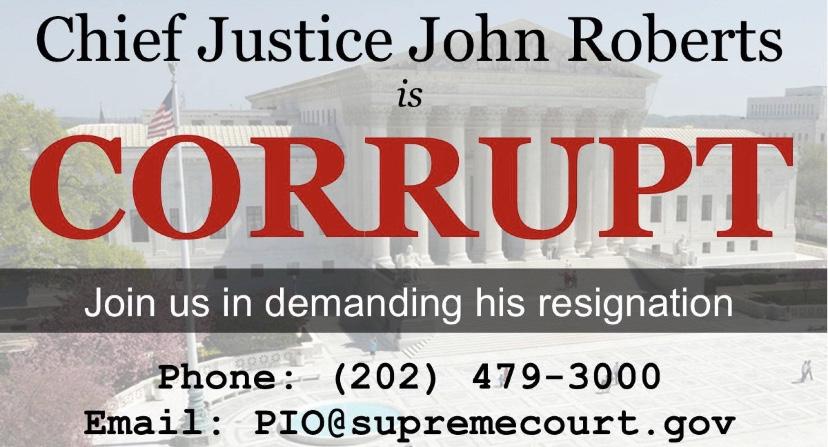 Blackmail Making Supreme Court Illegitimate