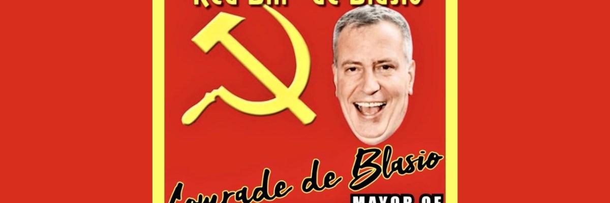 Comrade de Blasio