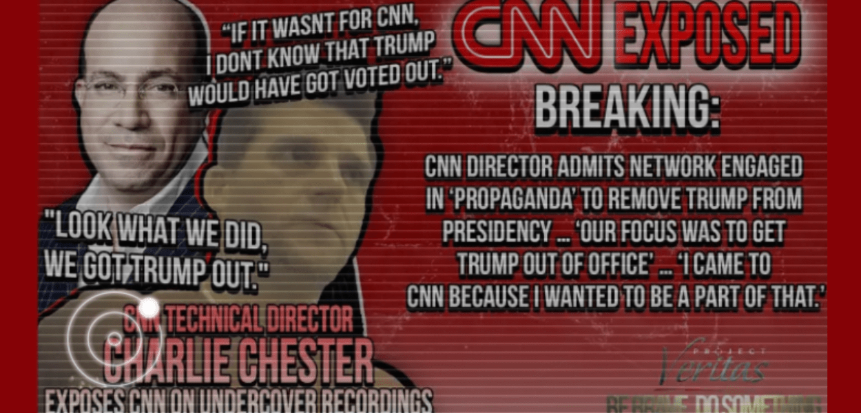 Project Veritas Exposes CNN as Leftist Propaganda Mill